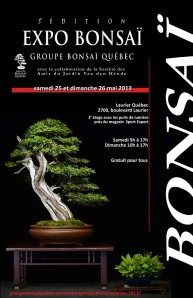 Affiche expo GBQ 2013