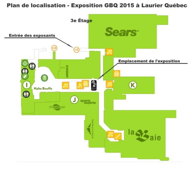 Localisation expo 3e étage