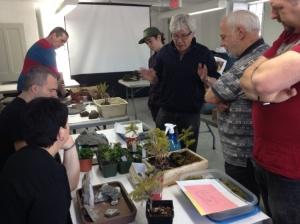 Le premier tour de table pour chaque participant. On est très attentif aux conseils de Brian.